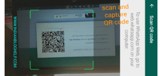 scan and capture QR code